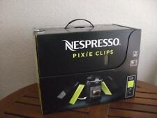 Nespresso Pixie Clips C60 Espresso Machine W/ Interchangeable panels&16capsules