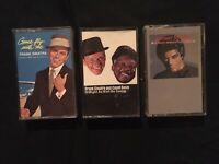 Oldies Cassette Lot (3) Frank Sinatra Count Basie Johnny Mathis