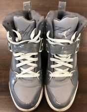 NIKE AIR JORDAN FLIGHT 45 HIGH LIGHT GRAPHITE-WHITE-STEALTH MEN SZ 11 384519-001