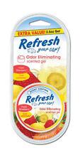 Refresh Your Car 2.5 oz Scented Gel Air Freshener, Strawberry / Lemonade Scent