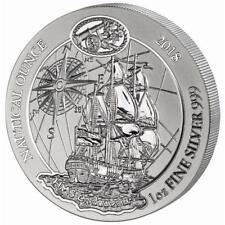 Ruanda - 50 Francs 2018 - Endeavour - Nautical Ounce (2.) - 1 Oz Silber ST