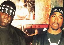 BIGGIE AND TUPAC 2 PAC A3 POSTER PRINT AMK1035