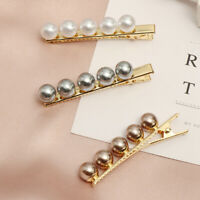 Accessories Headwear Bobby Pin Pearl Hairpins Women Hair Clips Girls Barrette