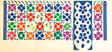 "Henri Matisse lithograph ""Decoration - Fruits"""