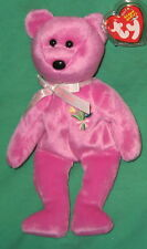 Mother 2004 TY Beanie Baby Mothers Day Pink Teddy Bear MWMT Birthday May 11 2003