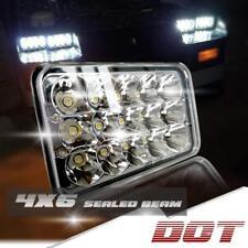 "DOT 4X6"" LED Headlights Projector Light Bulbs Kenworth Sealed Beam Headlamps"