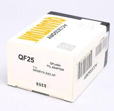 NEW -- QUANTUM QFLASH TTL ADAPTER QF25 FOR MAMIYA 645 AF