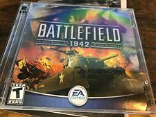 Battlefield 1942 PC CD-ROM 2-Disc Set  (jewel case ) no manual / no scratches