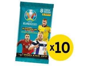 Panini UEFA Euro 2020 Adrenalyn XL 2021 Kick Off trading cards - 10 sealed packs