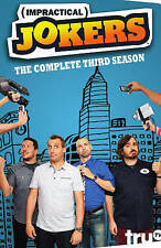 Impractical Jokers Complete 3rd Third Season 3 Three ~ BRAND NEW 4-DISC DVD SET