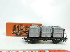 bj327-0,5 # Märklin H0 / AC 4614 wagon transport de containers MAISON DB,très