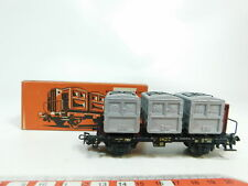 BJ327-0,5 # märklin H0/AC 4614 Rail Road Container Car House to DB ,Very Good