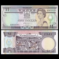 Fiji 1 Dollar, ND(1987), P-86a, UNC