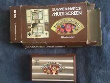 NINTENDO GAME & WATCH multi pantalla JR-55 DONKEY KONG II