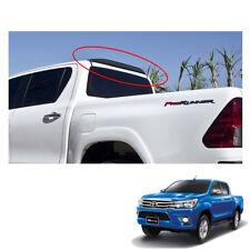 Rear Roof Spoiler Black Trim 1 Pc For Toyota Hilux Revo SR5 Pickup 2015 - 2017