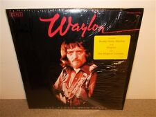 Waylon Jennings . I've Always Been Crazy . Buddy Holly Crickets . Sticker . LP