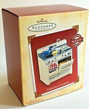 New listing Christmas Cookies! 2004 Hallmark Magic Light & Fragrance Oven Ornament Box Smell