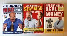 Lot 3 Jim Cramer's Real Money Mad Money Stay Mad for Life (HC) James Cramer