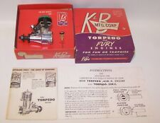 New In Box 1960 K & B .35 Torpedo Glow R/C Model Airplane Engine