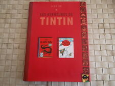 LES AVENTURES DE TINTIN - LE LOTUS BLEU ET TINTIN AU TIBET EDITIONS DE NOYELLES