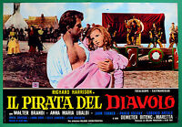 T58 Fotobusta the Pirate Del Diavolo Richard Harrison Walter Brandi Ubaldi 6