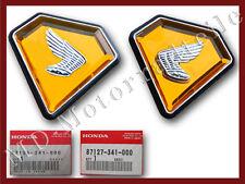 Honda CB 750 four k2 pages couvercle emblèmes 87126-341-000 87127-341-000