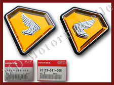 Honda CB 750 Four K2 Seitendeckel Embleme 87126-341-000 87127-341-000