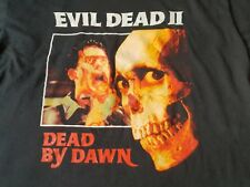 Evil Dead 2 II,vintage T shirt, zombie horror movie, Sam Raimi Army of Darkness