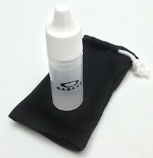 New Oakley Anti Fog Lens Cleaning Kit For Oakley Sunglasses with Cloth / Bag