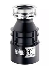 Insinkerator Badger 1, 1/3 HP Continuous Feed Garbage Disposal New!