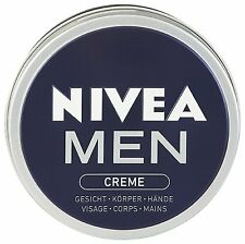 NEW in Germany 2 x 75ml Nivea Men Body Cream for face, body and hands