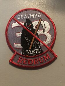 DC Police - DEA/MPD REDRUM  Police  DC Police  Patch