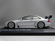 1/43 Minichamps Mercedes Benz CLK Coupe DTM 2002 Silver 403023200