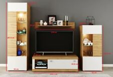 Living Room Modern TV Unit , stand Display Storage Tall Unit Cabinet  ARO 1