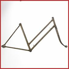 WOMEN STEEL FRAMESET 50s FRAME LUGS VINTAGE ROAD RACING BIKE CITY WOMAN ITALIAN