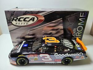 2000 Dale Earnhardt Sr #3 Hall of Fame Color Chrome Elite 1:24 NASCAR MIB 58/400