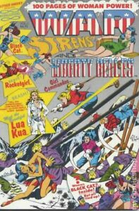 War Sirens and Liberty Belles #1 FN 6.0 1991 Stock Image