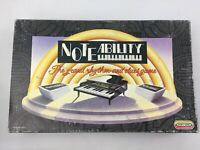 Vintage Noteability Piano Music Rhythm Board Game, Spears Games, 1990, Boxed