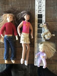 "Only Hearts Club Lot 4 Giraffe Pet 2 Dollds 9"" I Doll 4"""