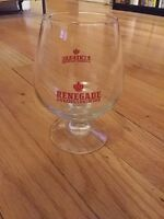 Renegade Brewing Company beer Glass,  Denver Colorado Craft Brewery
