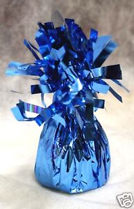 Balloon Weights LIGHT BLUE party favors 6.2 oz