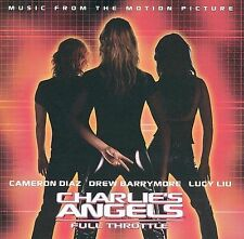 CHARLIE'S ANGELS - FULL THROTTLE rare Motion Picture Soundtrack cd DAVID BOWIE