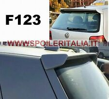 SPOILER  ALETTONE POSTERIORE GOLF IV  4 CON PRIMER F123PK SI123-7