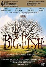 Big Fish Dvd Tim Burton(Dir) 2003