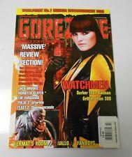 GORE ZONE #36 VF/NM Malin Akerman WATCHMEN UK Horror Magazine