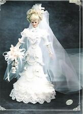 Annie's Attic Crochet 1996 Bride's Gown for 11 1/2 doll like Barbie Leaflet 7105
