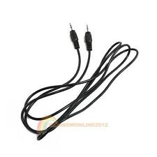 1.5M 5FT Male to Male Stereo Audio 3.5mm Extension Cable For MP3 MP4 iPad Black