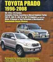 Toyota Prado 1996-2008 Workshop Repair Manual with MPN EPTH034