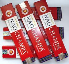 15 gramos de Golden Nag Champa Agarbatti-rojo-incense sticks inciensos