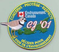 2001 Canada Scout Jamboree - CONVERSATION PROGRAM (FRENCH) SCOUTS Patch